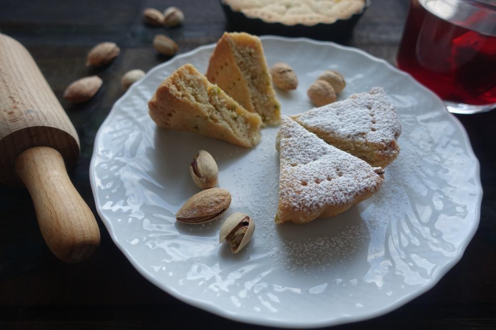 Shortbread, mürbes Gebäck zum Afternoon Tea, schottische Spezialität