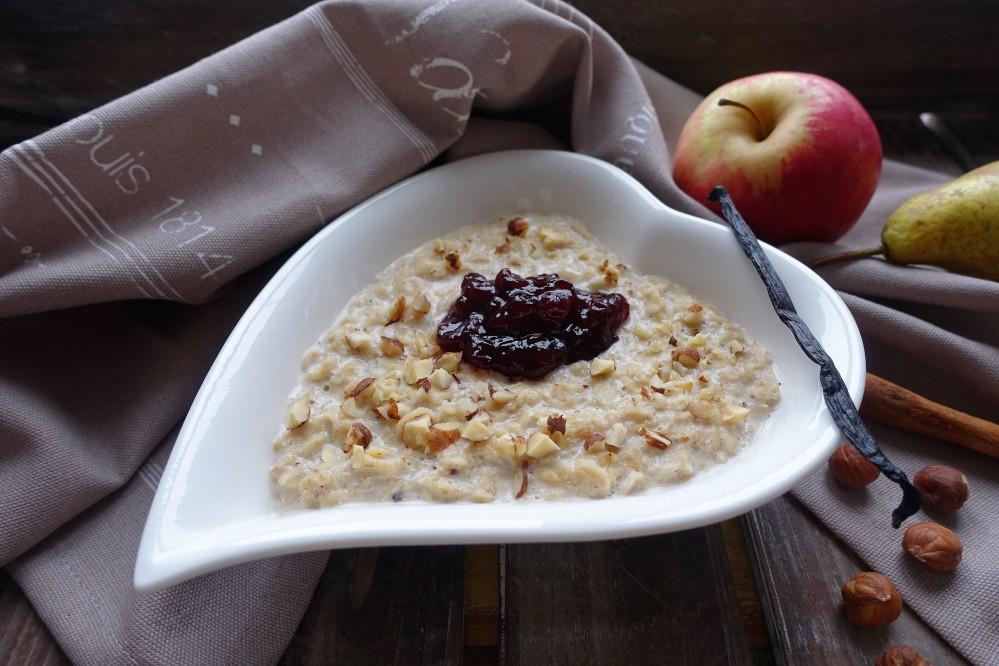 Vanille-Porridge