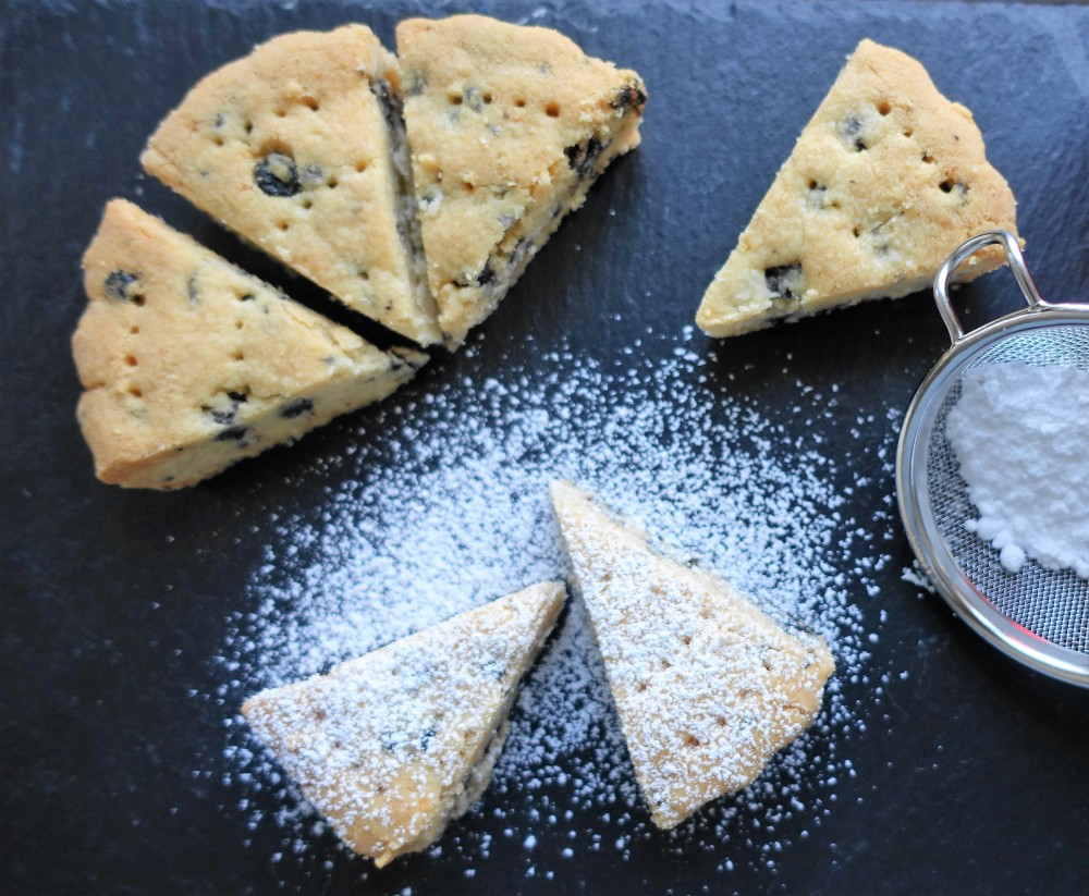 Shortbread Coconut Blueberry