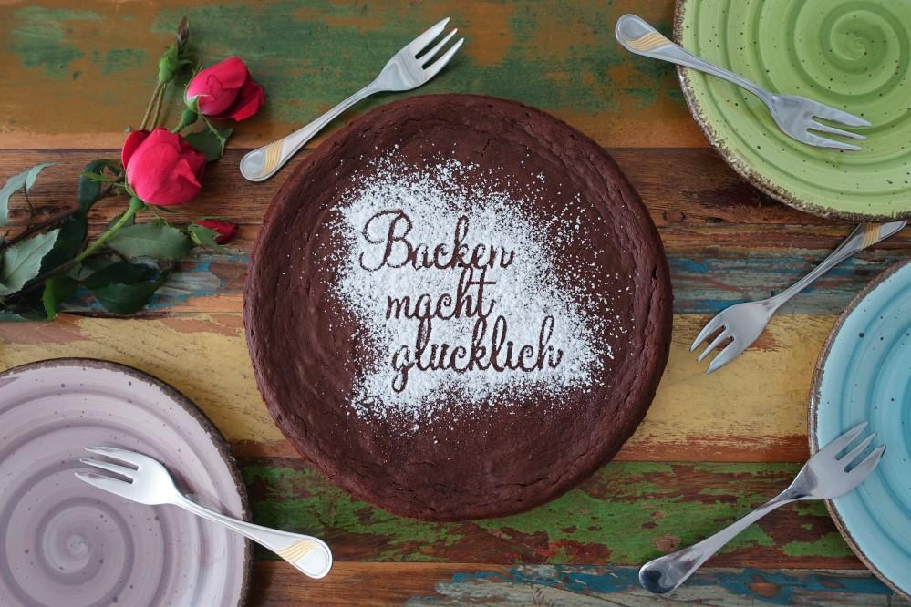 Backen macht glücklich. Süßes mit Gemüse, Süßkartoffeln und Schokolade, glutenfrei backen, süßer Seelentröster, Soulfood