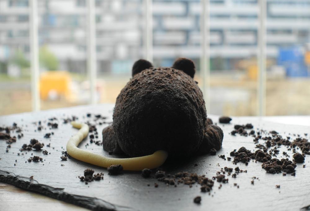 kreativ backen für Halloween; süße Ratte; Partyrezepte; backen für Kinder; Radioratte Rolf Rüdiger und Robert Steiner; Ratte zum Vernaschen; Ratatouille, die Gourmet-Ratte