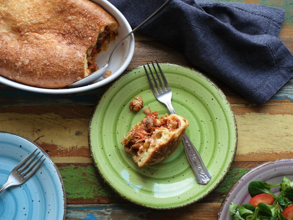 ein Beitrag von linzersmileys für den #afba19 #AFBA19 Austria Food Blog Award zum Thema nachhaltig kochen, Mutter Erde dankt, coole und clevere Rezeptideen zur Resteverwertung, brasilianisch, Torta de frango, gegen Lebensmittelverschwendung, #restloskochen #restlosgeniessen