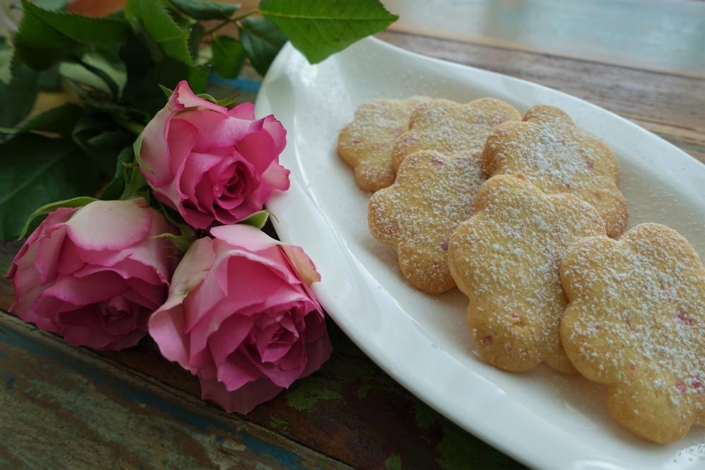 Rosenblätterkekse
