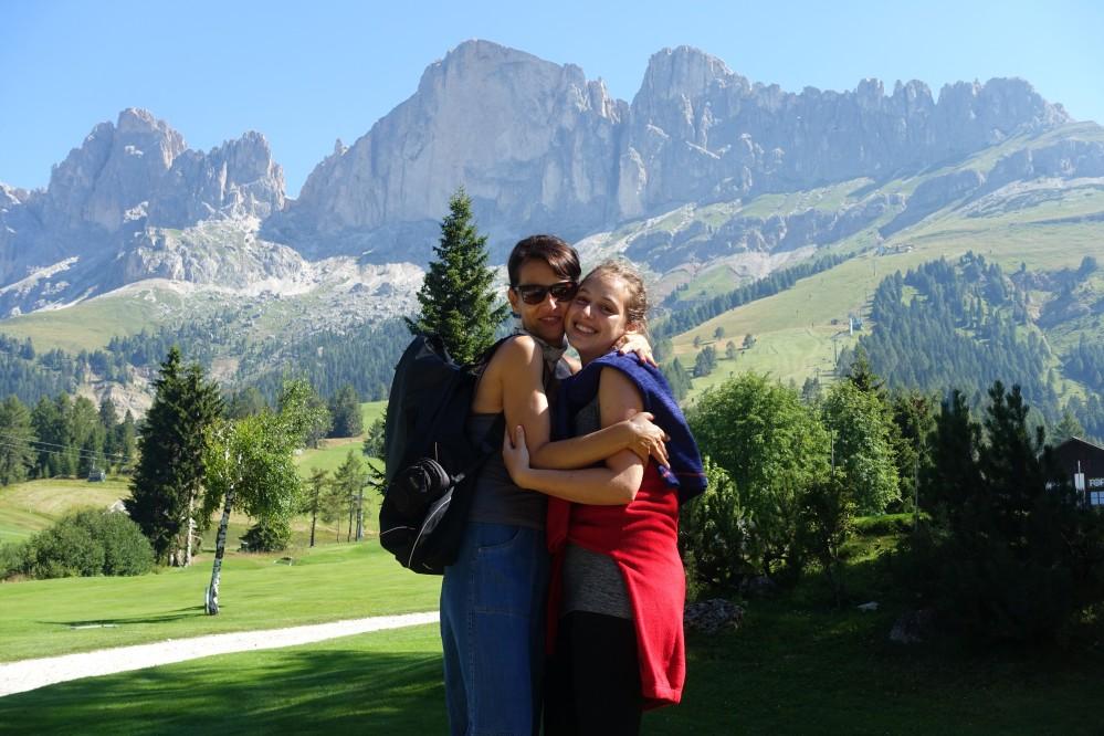 Weltnaturerbe Dolomiten, Südtirol - Trentino, Welschnofen - Nova Levante, Carezza - Karersee, Urlaub in den Bergen, Urlaubserinnerungen, Family, Smile, SmileysRosengarten - Catinaccio