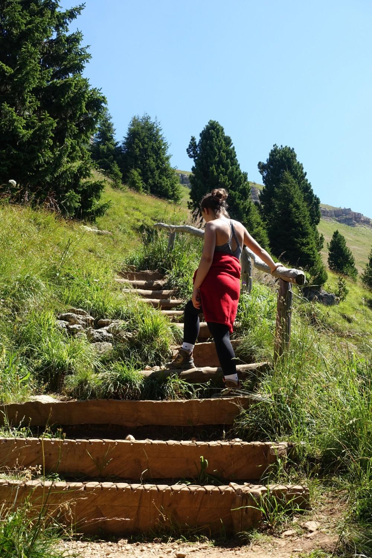 Weltnaturerbe Dolomiten, Südtirol - Trentino, Welschnofen - Nova Levante, Carezza - Karersee, Urlaub in den Bergen, Urlaubserinnerungen, Family, Smile, Smileys, wandern