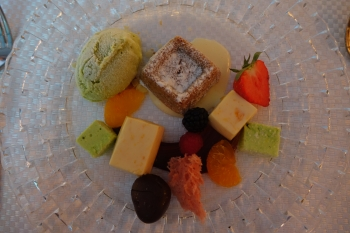Maronipudding - ein süßes Potpourri