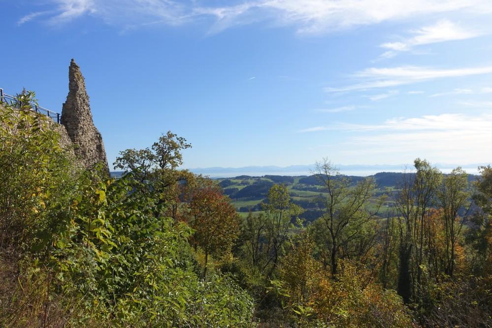Landpartie, Ausflug, Mühlviertel, Ruine Waxenberg, Burgruine, Gemeinde Oberneukirchen, Oberösterreich, Herbst, Daniela Terenzi, linzersmileys