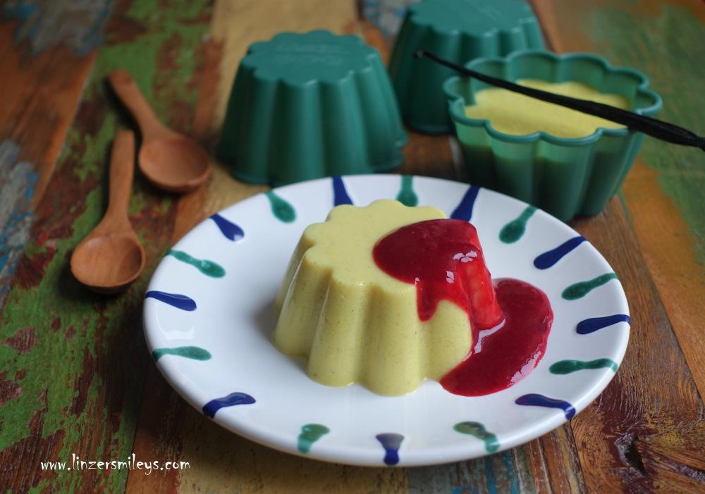Vanillepudding, Pudding selbst gemacht, ohne Puddingpulver, Flan, gestürzt, mit Kurkuma, Gelbwurz, Dessert mit heilsamer Wirkung #Soulfood #Seelentröster