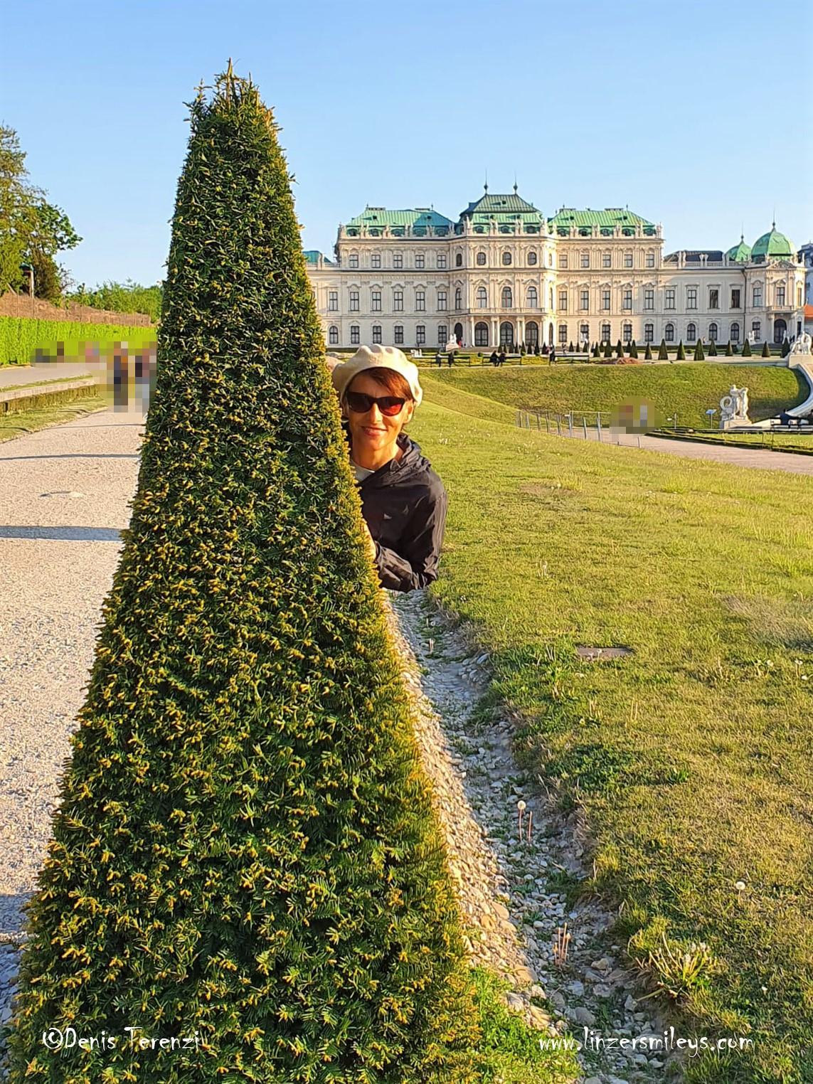 Belvederegarten Wien, Schloss Belvedere, #linzersmileys Daniela Terenzi, Foodblog, Foodbloggerin, gebürtige Linzerin, aus Österreich, #Linz