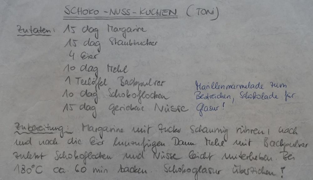Tonis Kuchenrezept