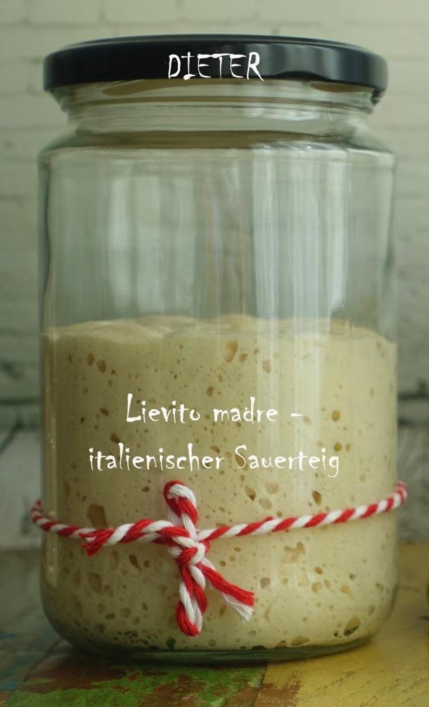 #linzersmileys Lievito madre, italienischer Sauerteig, mild, aus Dinkelmehl, perfekt für Colomba, Focaccia dolce, Panettone und Pandoro, Pizza, Brot, Pane casareccio