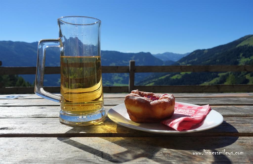 Gasteinertal, Salzburger Land, Urlaub in Österreich, Bauernkrapfen, Schmalzgebackenes, österreichisches Schmankerl #linzersmileys