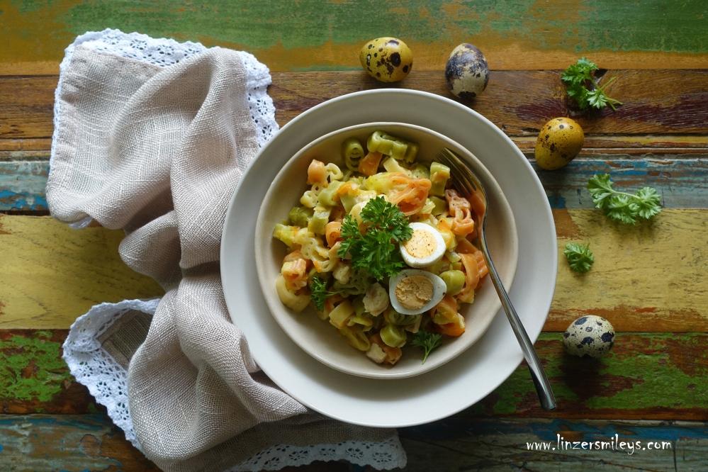 One Pot Leftover Easter Pasta, Resteessen, nachhaltig, aus Resten Leckeres kochen, restlos genießen, aus nur einem Pot, lebensmittelrettend