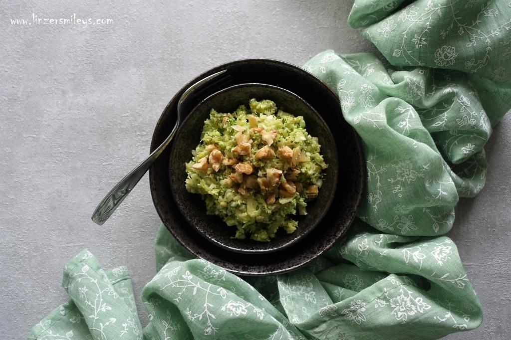Broccoli, Brokkoli, Rohkost, mit Gemüse und Obst, Salat, vegan, rein pflanzlich, echt köstlich, fruchtig, nussig, ohne Getreide, glutenfrei, #linzersmileys