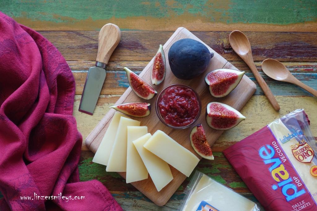 #PiaveDOP #enjoyitsfromeurope #nicetoeateu #formaggiopiavedop #lattebusche , Busche, Belluno, Köstliches mit Piave DOP, Käse aus Italien, formaggio italiano, Feigen, Feigenaufstrich, Käse & Obst, der perfekte Begleiter zu Käse, Marmelade, Konfitüre, Rezept von Daniela Terenzi #linzersmileys